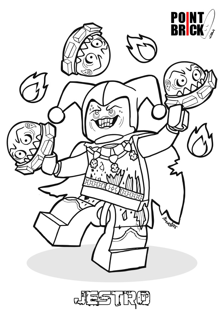 Point Brick Blog: Disegni da Colorare LEGO: Nexo Knights!