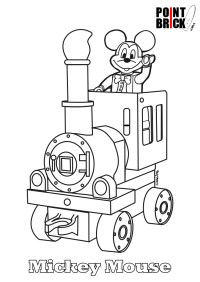 Point Brick Blog: Disegni da Colorare Lego Disney