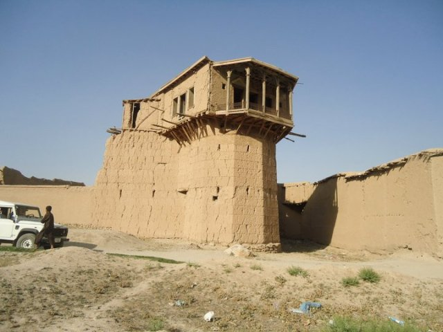 Fortress of ArghandeL Built by my great-great-grandfather 130 years ago