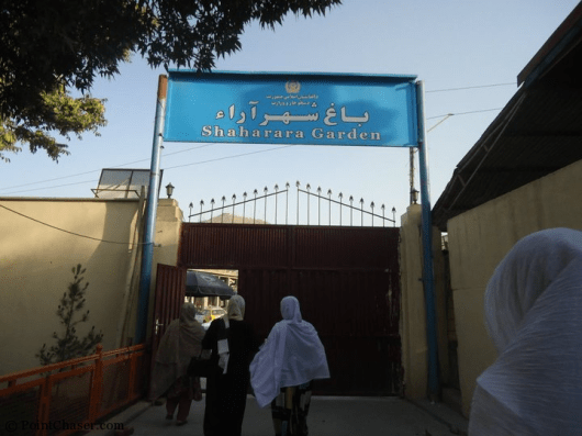 Bagh-e-zanoh: An area designated for businesses owned by women