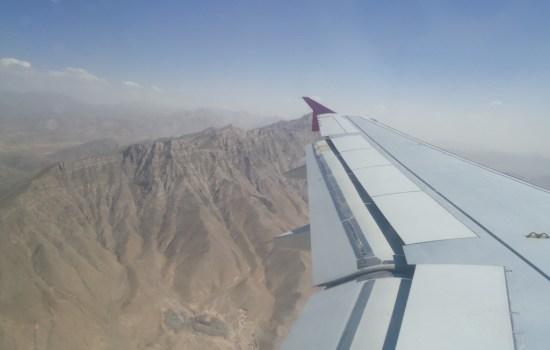 Safi Airways Aerial View of Afghanistan