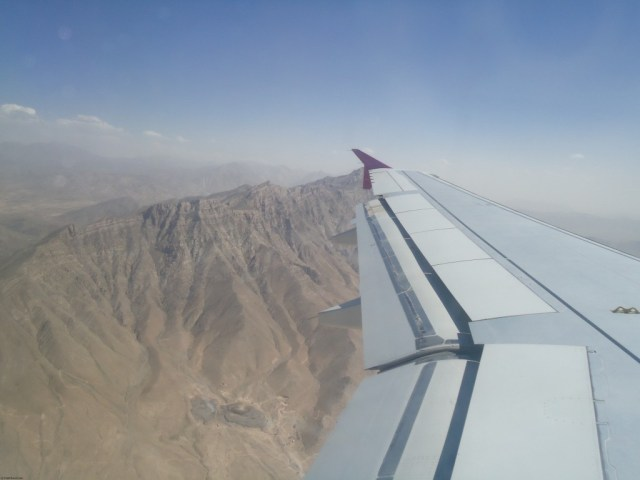 Safi Airways Aerial View of Afghanistan