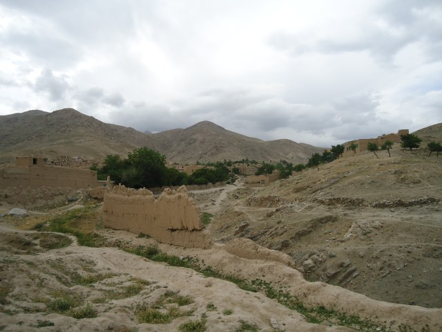 Ruins of the fortress in Arghandeh