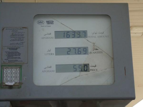 Kabul Gas Price