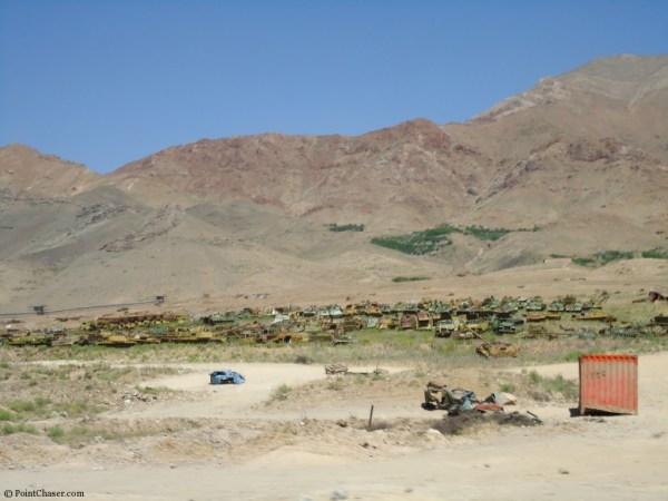 Tank Graveyards Charikar