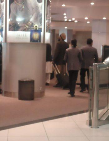 Warlords at Dubai Airport