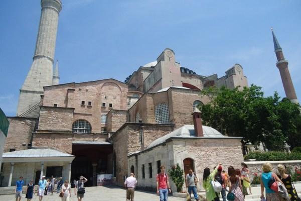 Hagia Sophia Istanbul Exterior