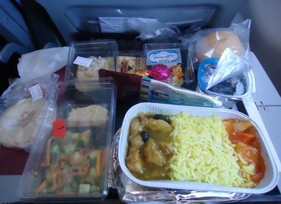 Qatar Airways Economy meal