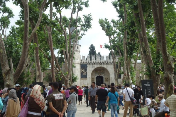 Topkapi Palace Gate of Salutation