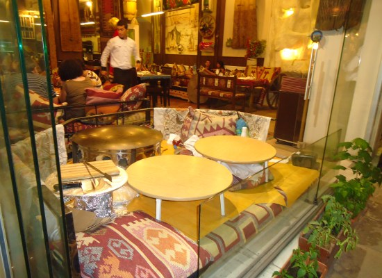 Restaurant in Old Town Istanbul