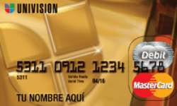 Univision Prepaid Card Manufactured Spending