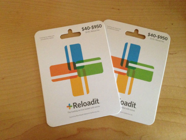 ReloadIT cards