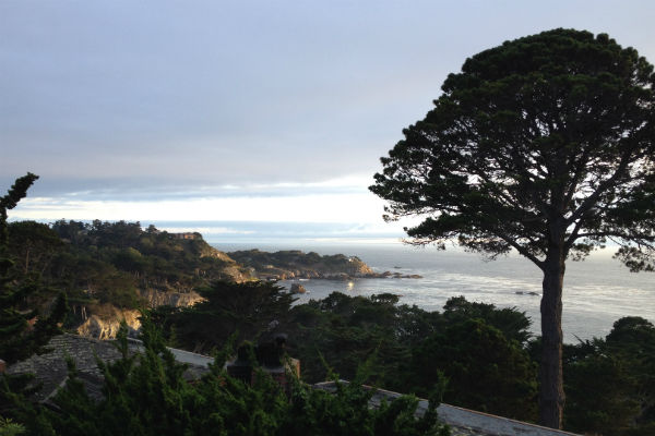 View from the Hyatt Carmel Highlands