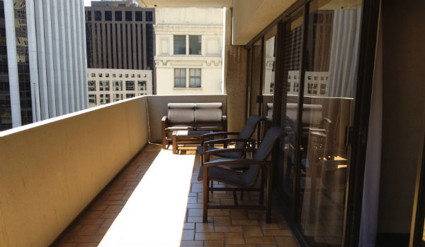 Hyatt Regency San Francisco Balcony