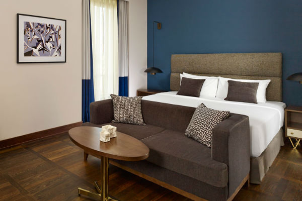 A Deluxe Room at the Metropol Palace Belgrade - One of the Best Category 3 Starwood Hotels