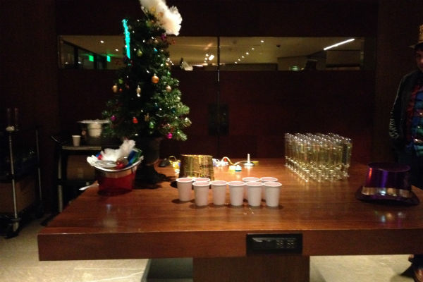 New Year's Eve at the Grand Hyatt San Francisco