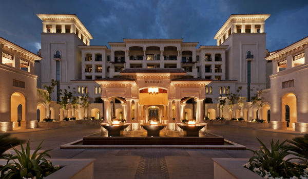 St. Regis Saadiyat Island Resort Abu Dhabi - one of the many hotels moving up one category