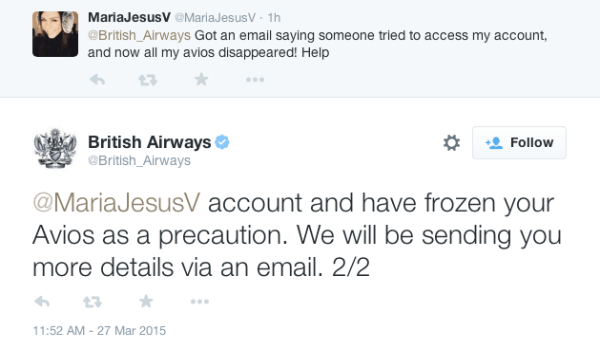 British Airways accounts hacked