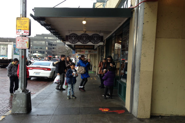 Starbucks Pike Place Seattle