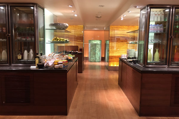 Grand Hyatt Singapore Club Lounge