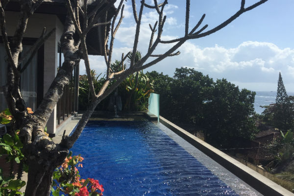 Conrad Bali Penthouse Suite Infinity Pool