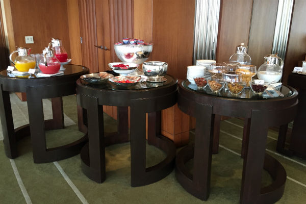 More from the extensive breakfast spread