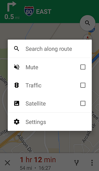 Google Maps App for Manufactured Spending Route