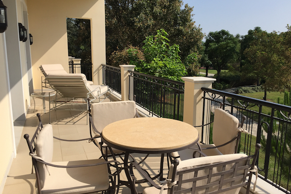 Executive Suite Balcony at Hyatt Regency Thessaloniki