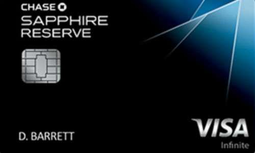 Chase Sapphire Reserve Credit Card New Application