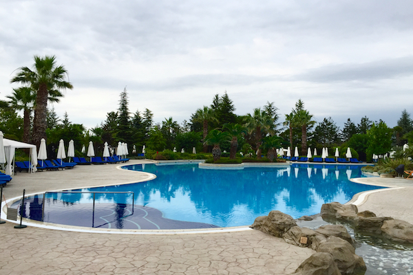 Outdoor Pool at Hyatt Regency Thessaloniki