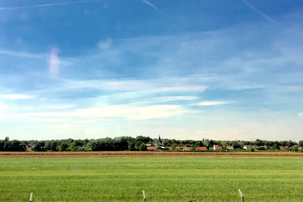 TGV Train Ride Paris to Calais France