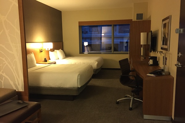 Standard room at the Hyatt Place Chicago Downtown The Loop Hotel
