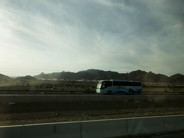 SAPTCO Bus from Mecca to Medina