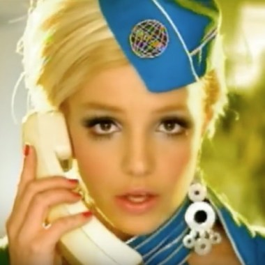 Britney Spears Toxic Flight Attendant