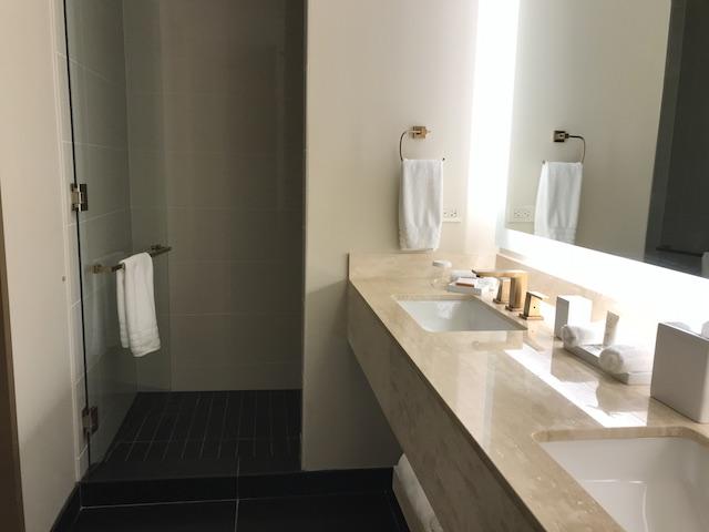 Review Conrad Chicago Superior Room Bathroom