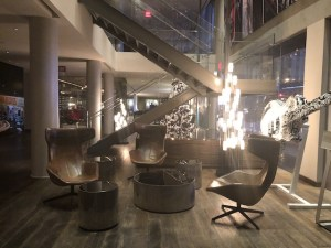 Andaz West Hollywood Review Lobby Seating Area