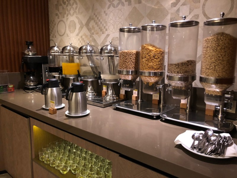 Doubletree Istanbul Sirkeci Breakfast Cereal Bar