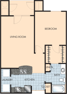 1 Bed / 1 Bath / 821 sq ft / Rent: $1,410