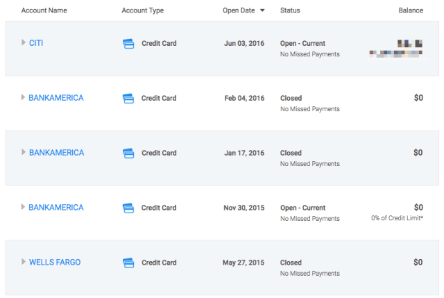 Credit Karma is super helpful - a points collector's best friend!