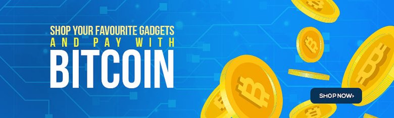 Shop with your Bitcoins on Pointek Online bit coin banner