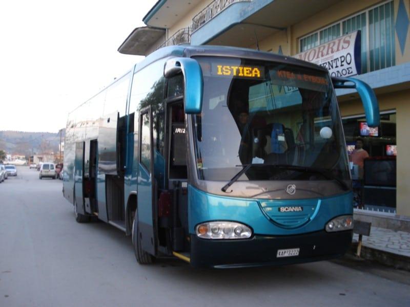 Long-distance buses (KTEL)
