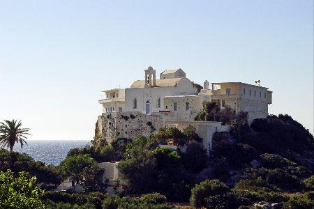 Chrissoskalitissa monastery in Chania