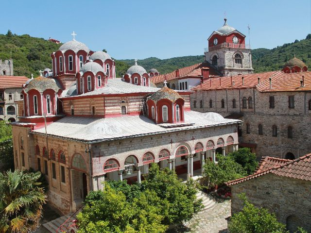The Monastery of Esfigmenou