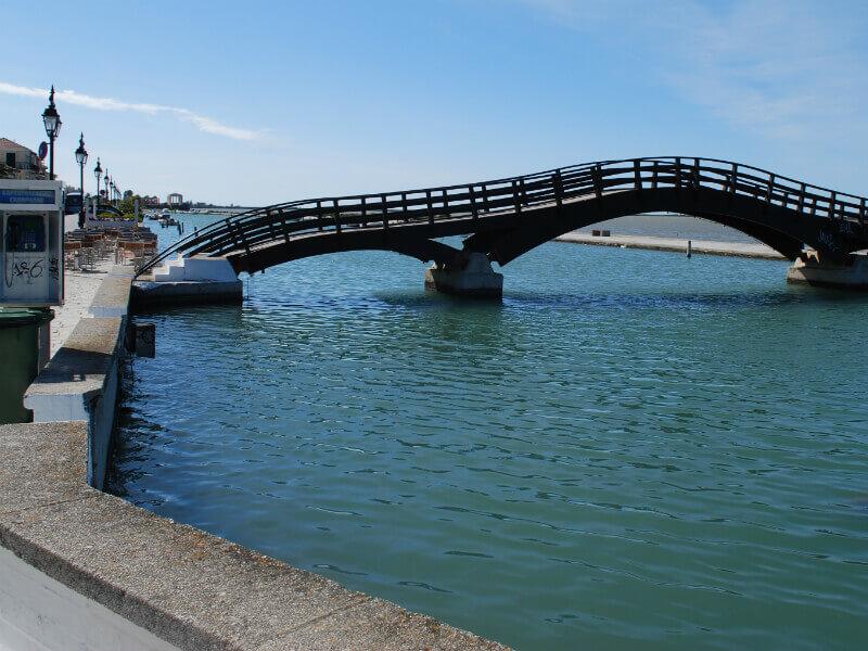 Lefkada Bridge - Wooden bridge