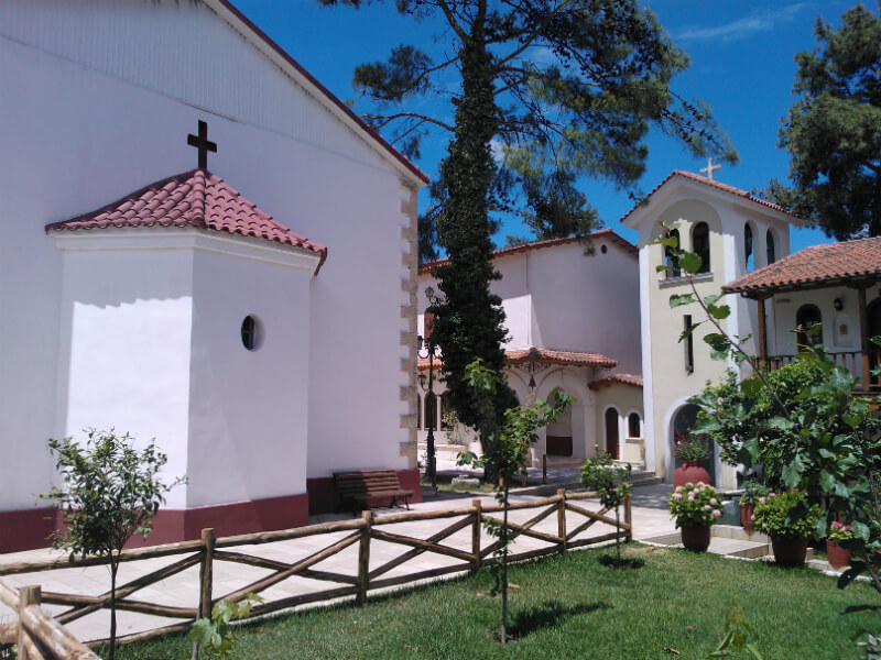 Monastery of Panagia Faneromeni in Lefkada