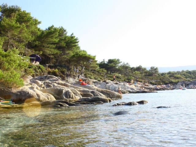 Kavourotrypes Beach Sithonia Halkidiki