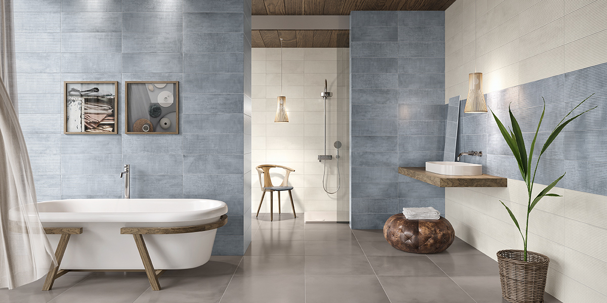 salle de bain campagne chic point p