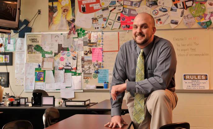 Alumni Profile Gary Smith High School English teacher