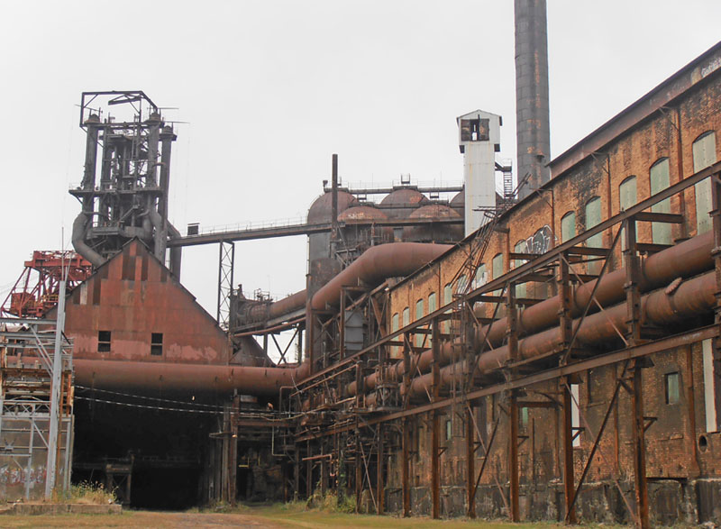 Hitchcock, heritage and Halloween at Carrie Furnace