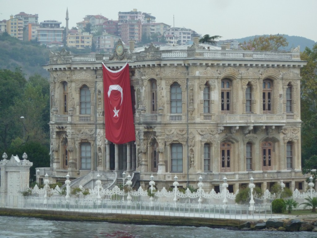 \The flag of Istanbul, Turkey